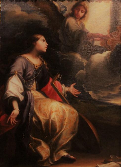 Aparición de un ángel a Santa Cecilia. h1635-1640. Óleolienzo. Procedete del Convento de San Cayetano, Zaragoza. Museo de Zaragoza. Foto. Miguel Hermoso.jpg